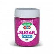 Açúcar Colorido Sugar Colors Rosa 200g