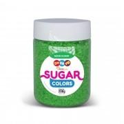 Açúcar Colorido Sugar Colors Verde 200g