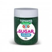 Açúcar Colorido Sugar Colors Verde Militar 200g