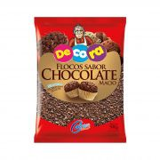 Flocos Sabor Chocolate Macio Decora 500G