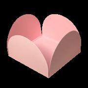 Forminha para Doces Caixinhas em Papel Especial Rosa Bebê Kit 50 Unidades
