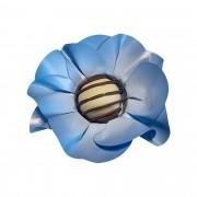 Forminha para Doces Margarida em Papel Especial Azul Serenity Kit 40 Unidades