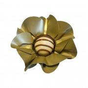 Forminha para Doces Margarida em Papel Especial Dourado Kit 40 Unidades