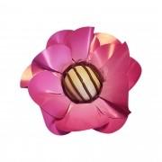 Forminha para Doces Margarida em Papel Especial Pink Kit 40 Unidades