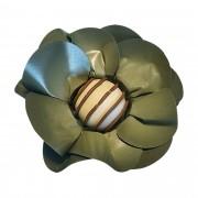Forminha para Doces Margarida em Papel Especial Verde Musgo Kit 40 Unidades