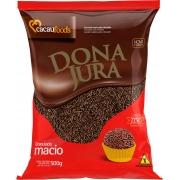 Granulado Macio Dona Jura Sabor Chocolate 500G