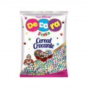 Mini Cereal Crocante Decora Colorido Bebê 500g