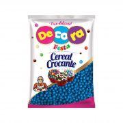 Mini Cereal Crocante Vibrante Decora Azul 500g