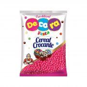 Mini Cereal Crocante Vibrante Decora Rosa 500G