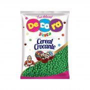 Mini Cereal Crocante Vibrante Decora Verde 500G