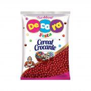 Mini Cereal Crocante Vibrante Decora Vermelho 500G