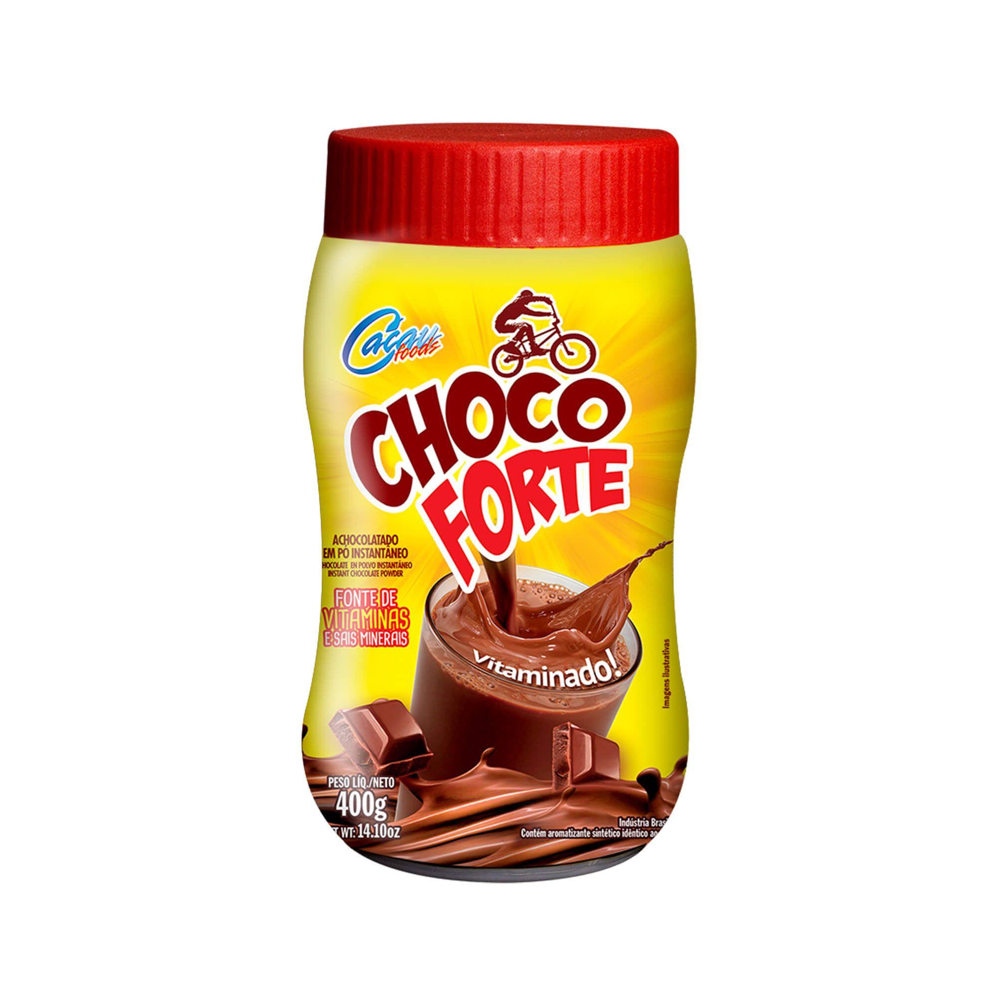 Achocolatado Chocoforte pote 400g