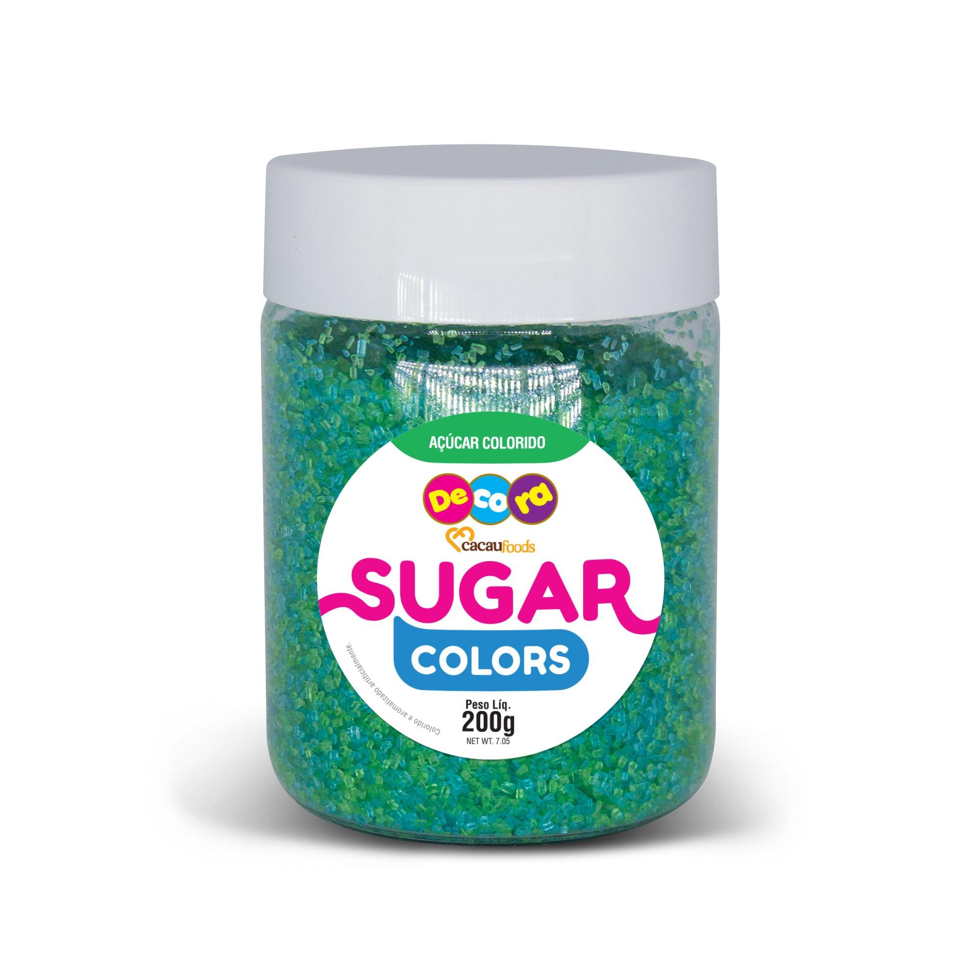 Açúcar Colorido Sugar Colors Tiffany 200g