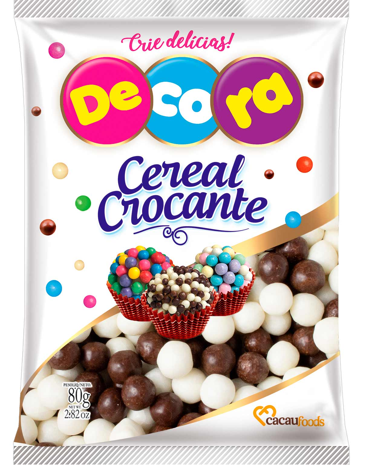 Big Cereal Crocante Decora Mesclado 80G