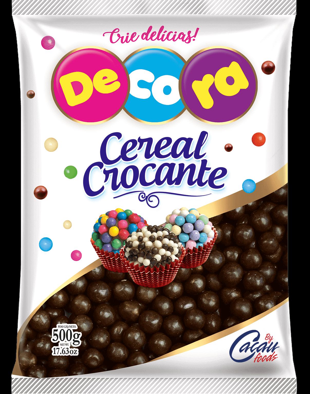 Big Cereal Crocante Decora Sabor Chocolate 500G