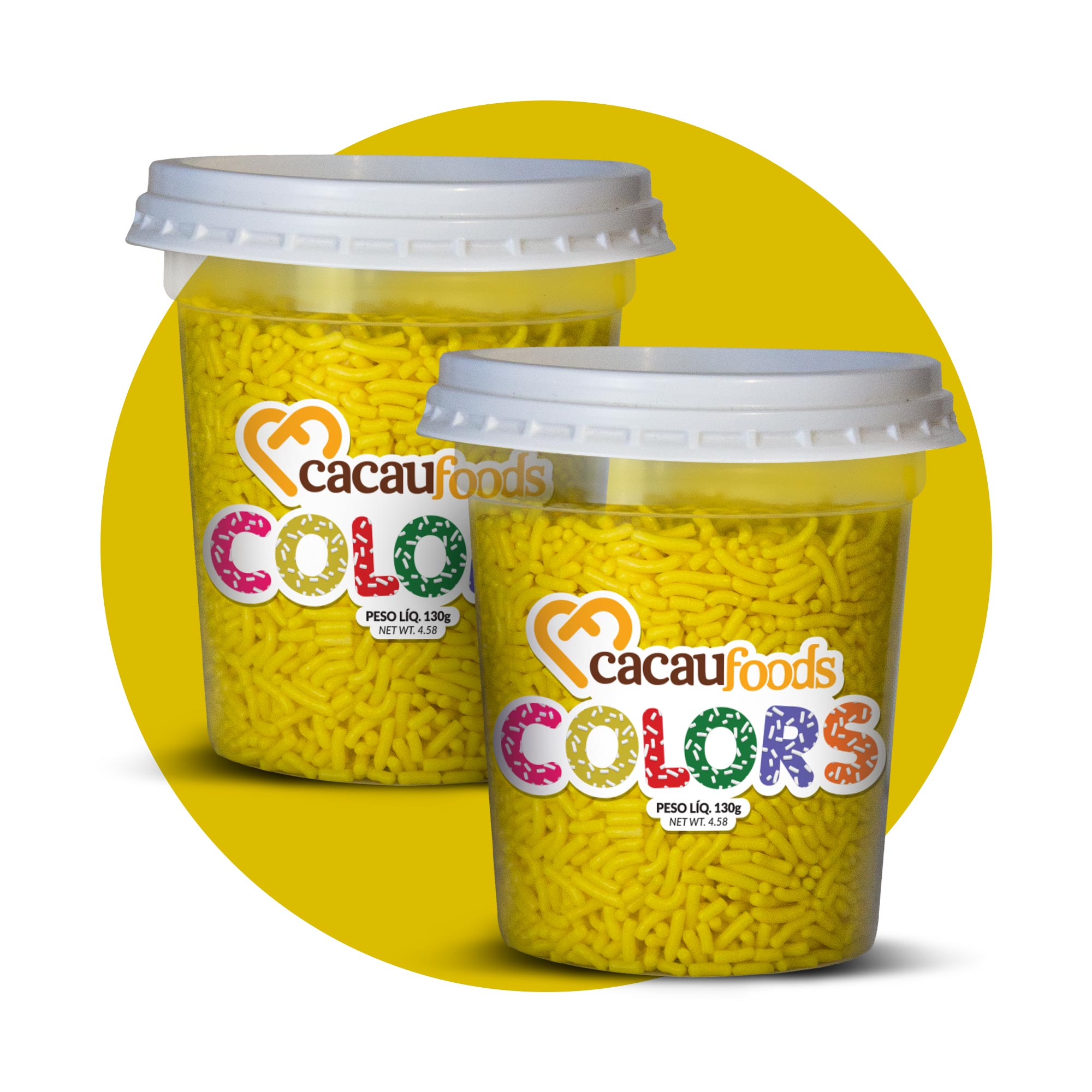 Combo Granulado Colors Amarelo