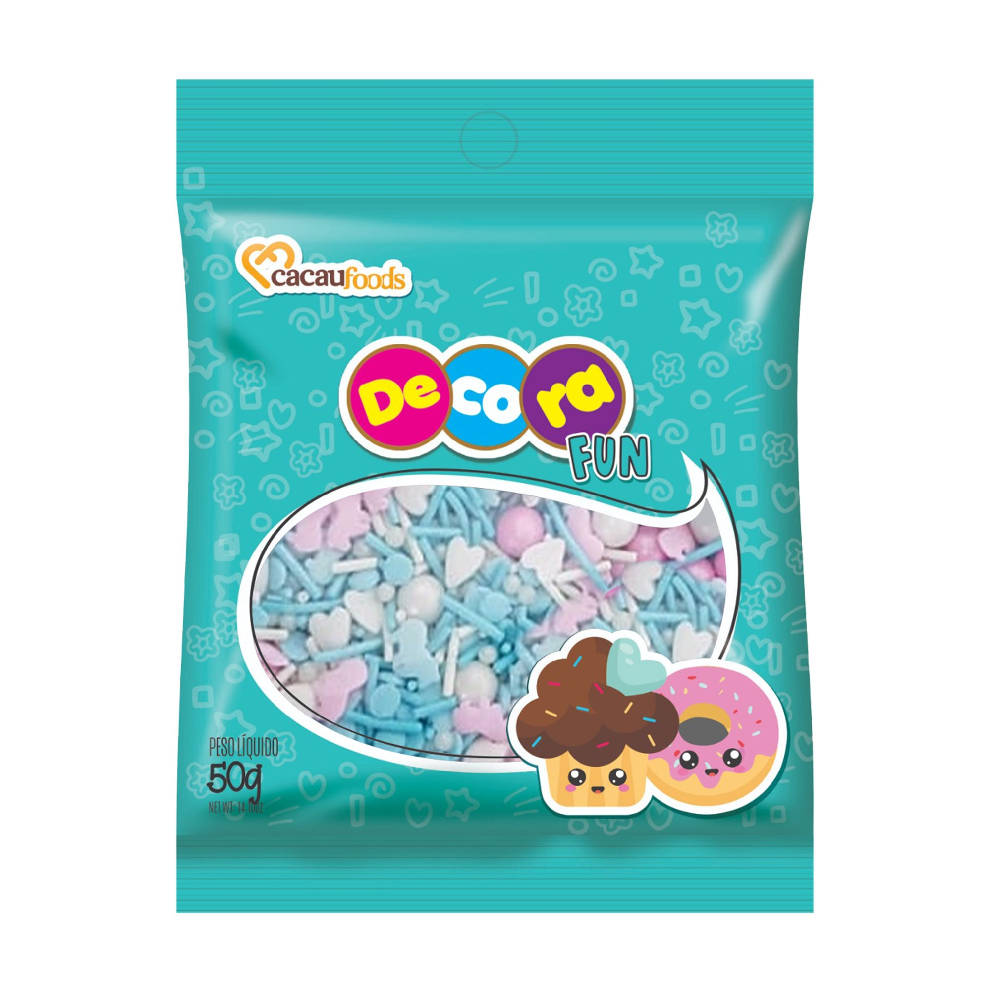 Decora Fun Sweet Blue 50g