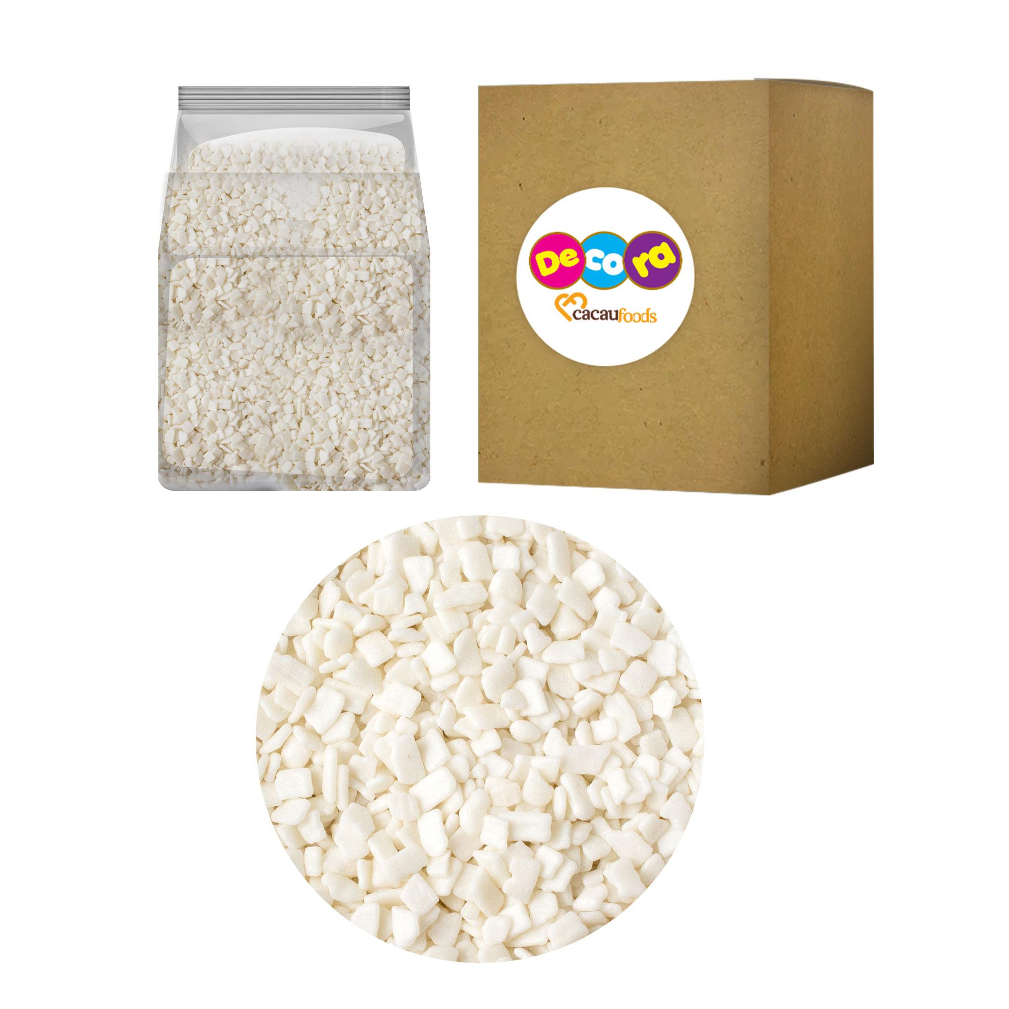 Flocos Macio Sabor Chocolate Branco 2kg