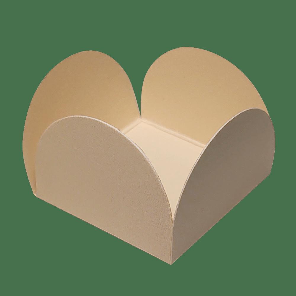 Forminha para Doces Caixinhas em Papel Especial Pérola Kit 50 Unidades