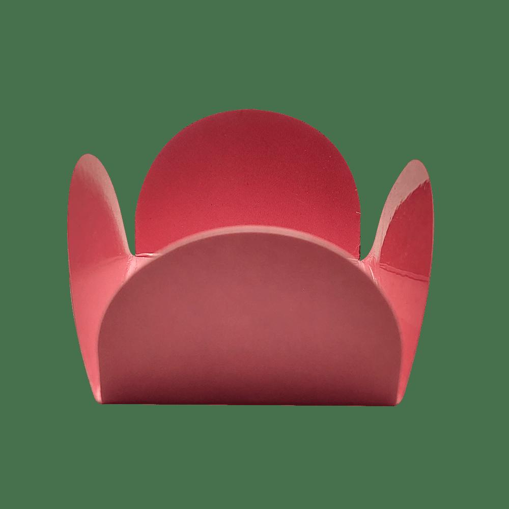Forminha para Doces Caixinhas em Papel Especial Rosa Chá Kit 50 Unidades