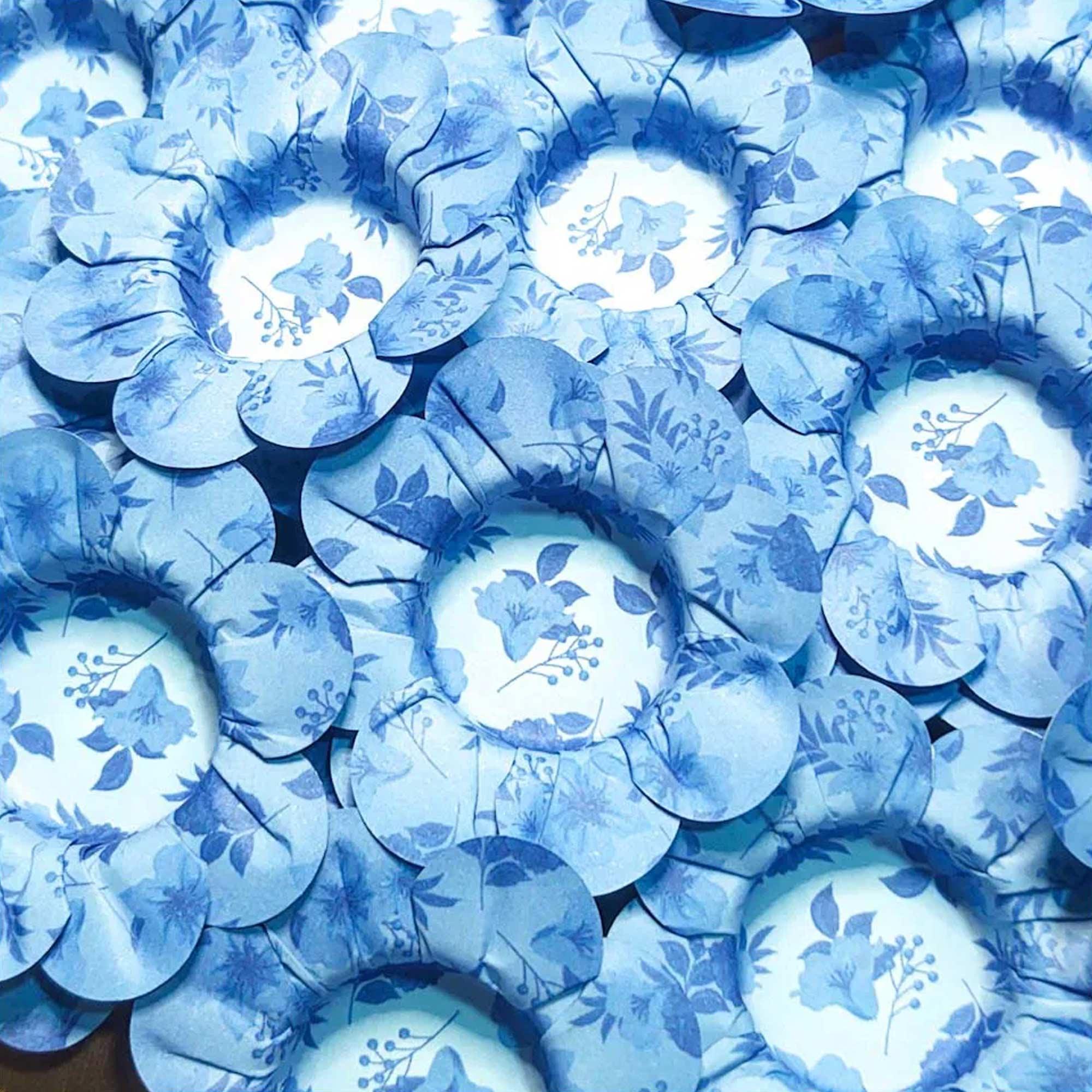 Forminha para Doces Margaridinha em Papel Especial Floral Kit 50 Unidades