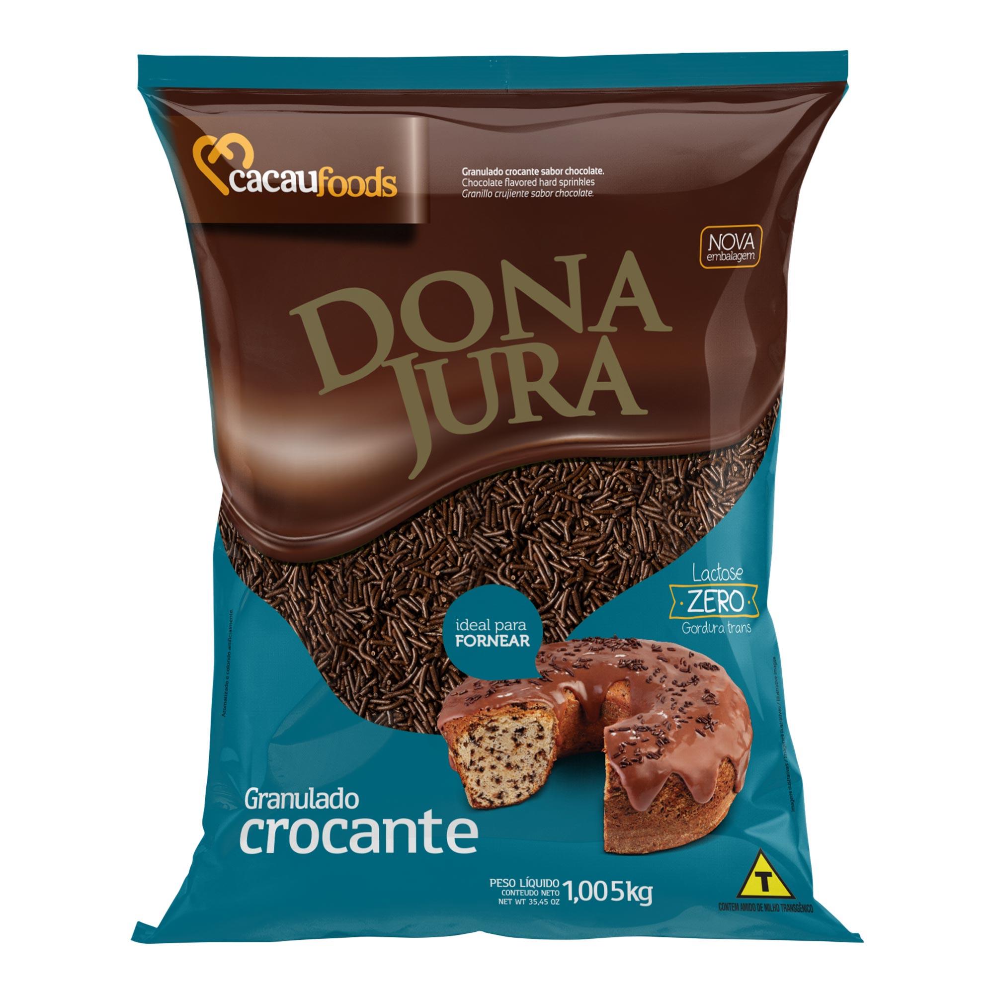 Granulado Crocante Decora Sabor Chocolate 1,005Kg