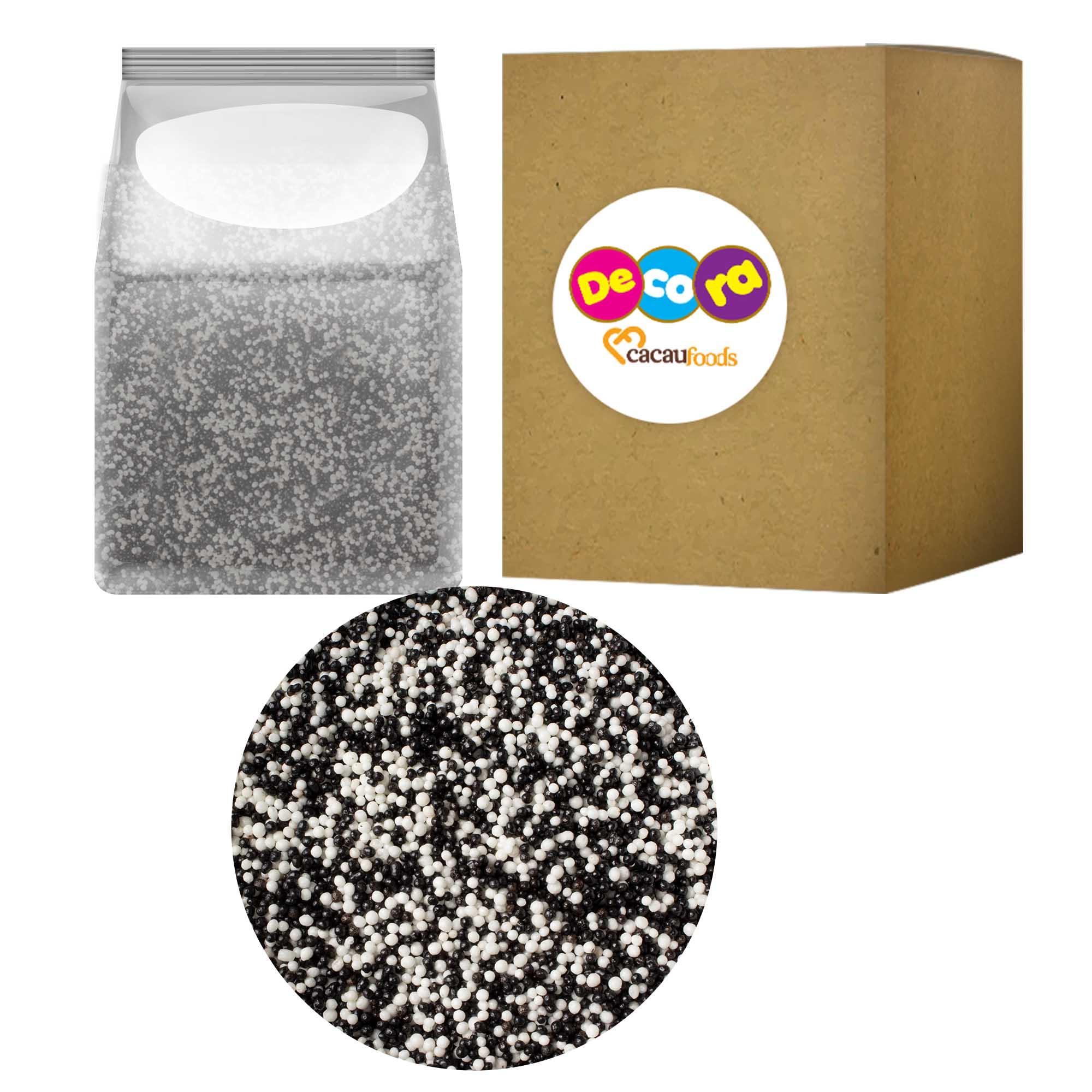 Micro Cereal Branco e Preto 1,5KG