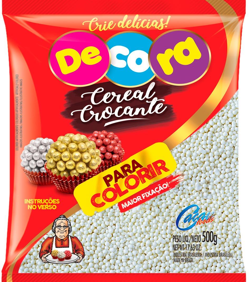 Micro Cereal Crocante para Colorir 500g