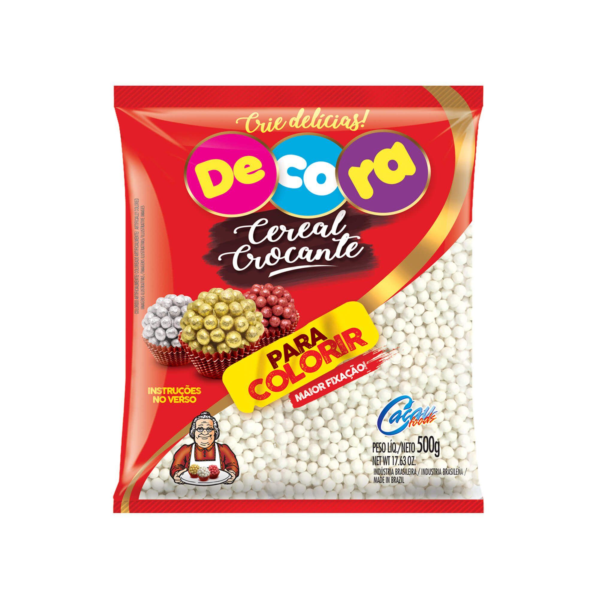 Mini Cereal Crocante Decora Para Colorir 500G