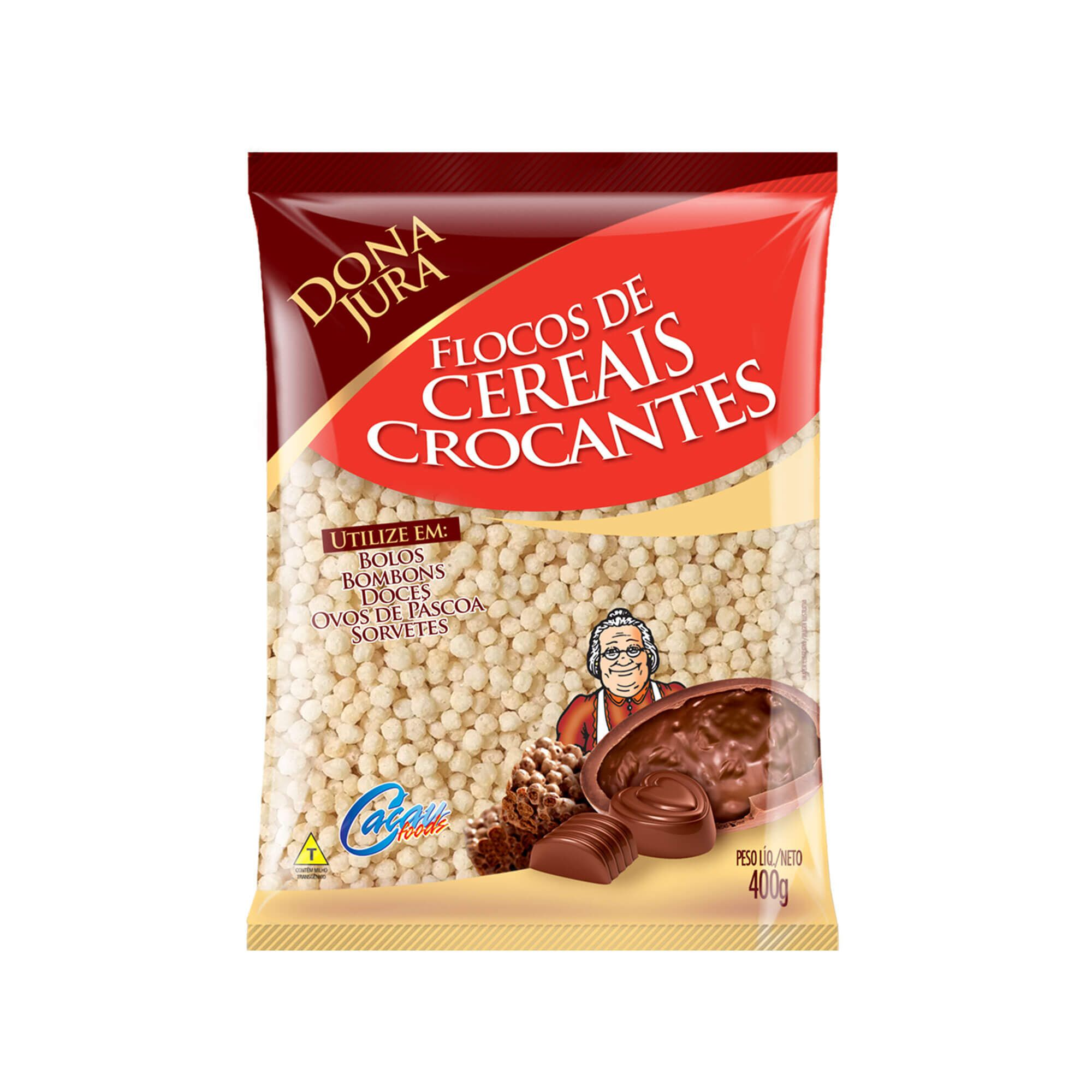Mini Cereal Crocante Dona Jura Natural 400G