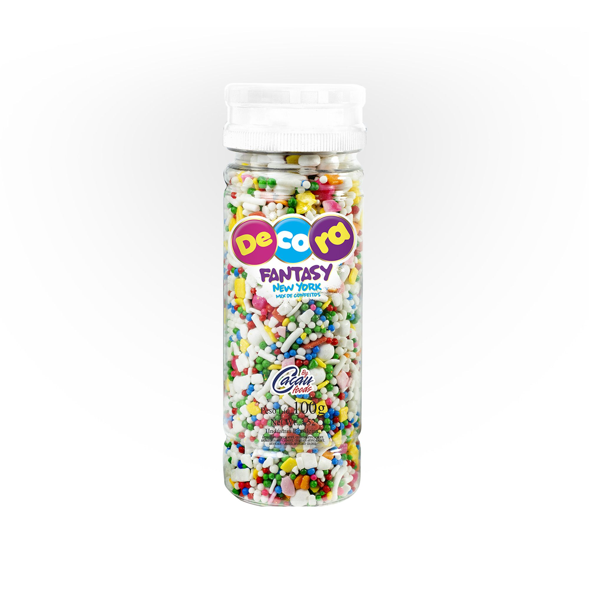 Mix De Confeitos Decora Fantasy New York 100G