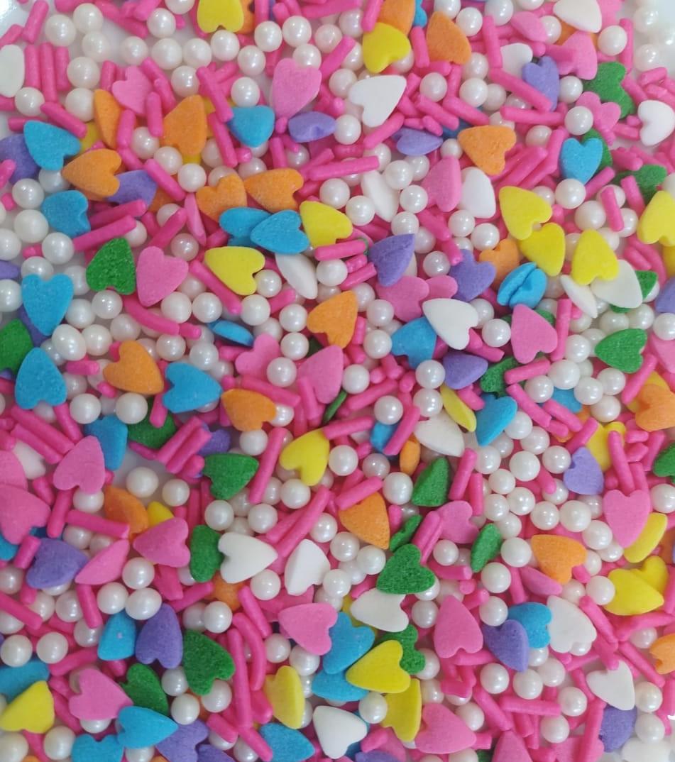 Sprinkles Love Pink 100g