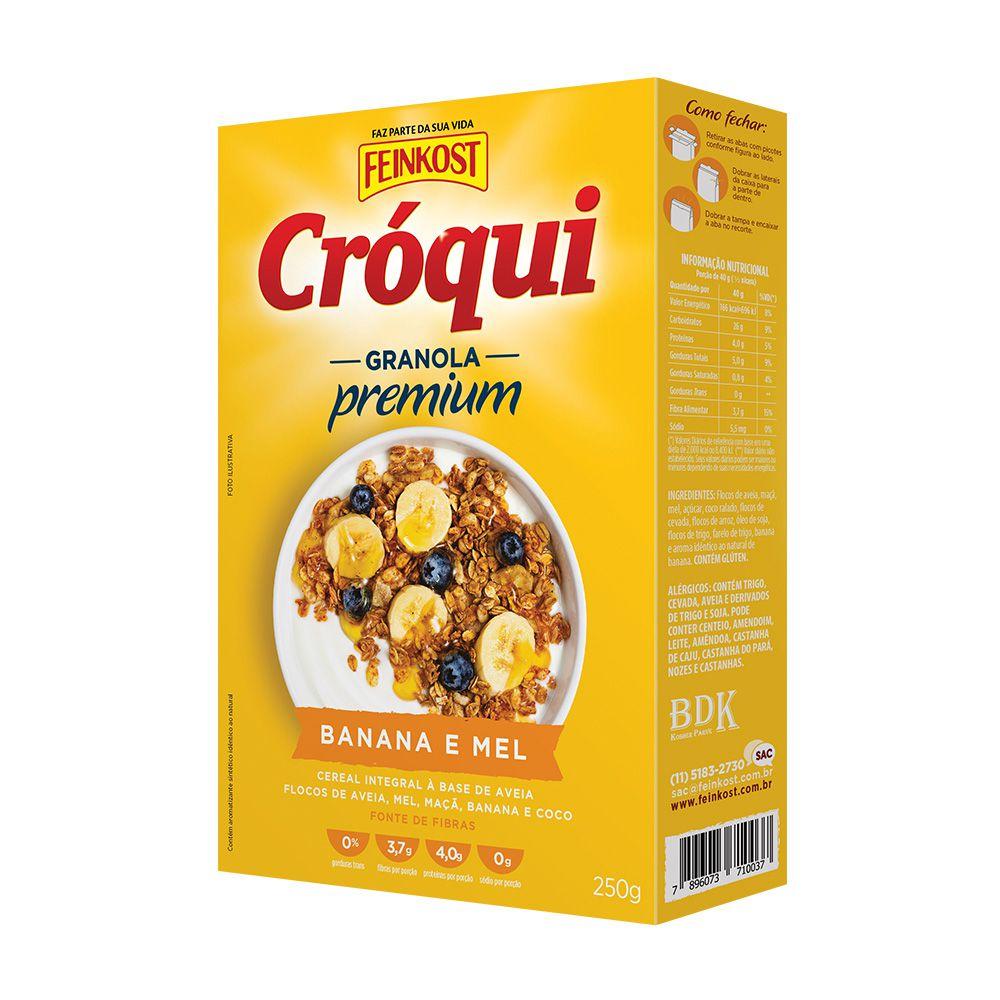 Granola Banana e Mel Cróqui 250g