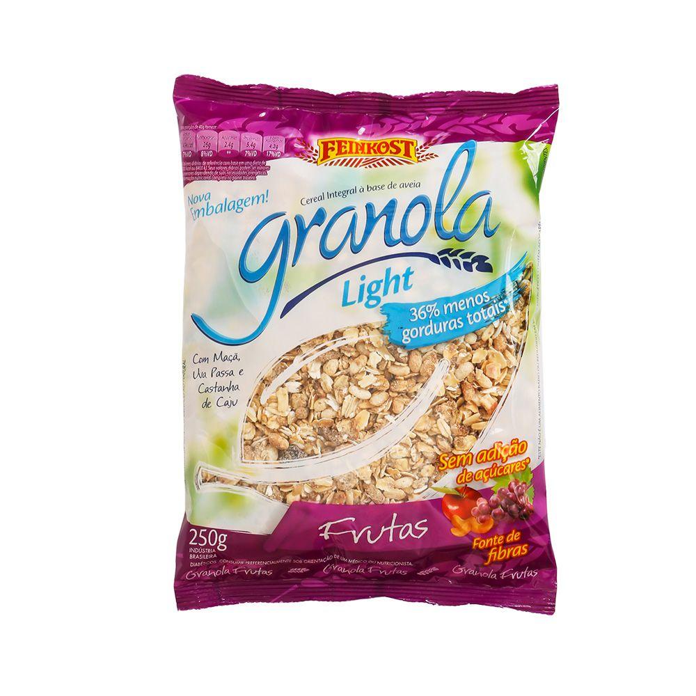 Granola Feinkost Frutas Light - Sem Adição de Açúcar