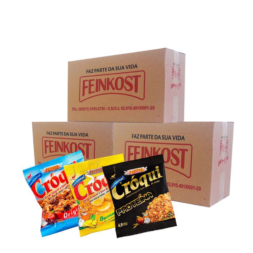 Granola Cróqui Misto 30g - 3 Caixas de 50 saches