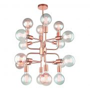 Lustre Pendente Hill Metal NewLine Pd1312-CO-DO
