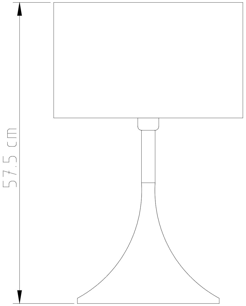 Abajur Alumínio Spum Mistt Colors M900