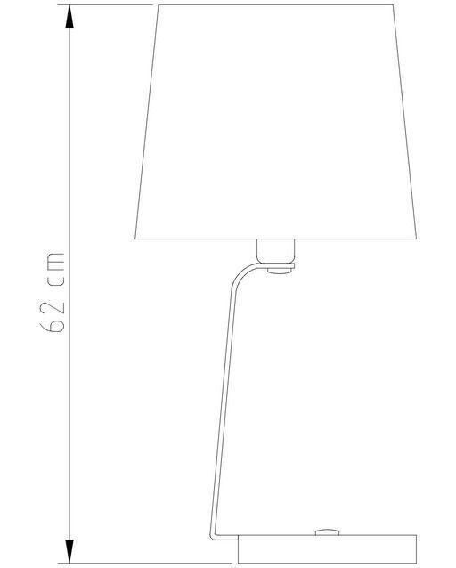 Abajur Guile Golden Art M851 com Cúpula