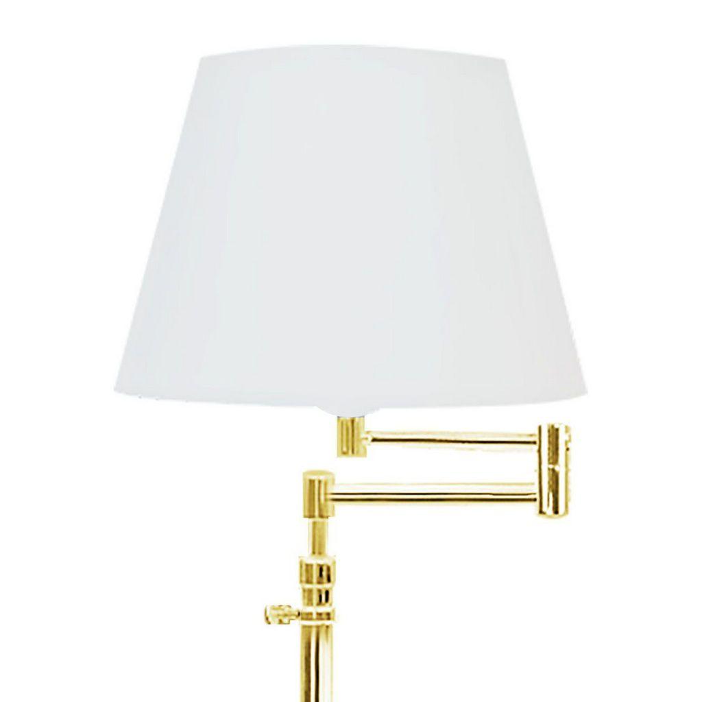 Abajur Latão Braço Articulado Golden Art M039