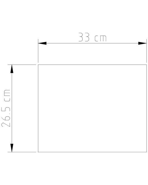 Abajur Rústico Madeira Retângulo M631-MA Golden Art com 60cm de Altura
