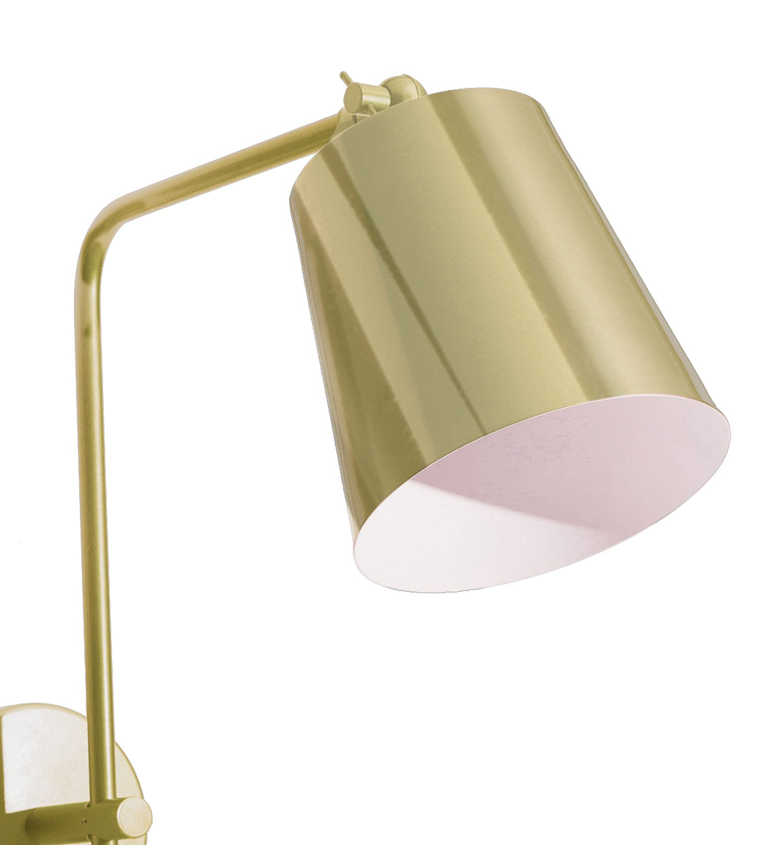 Arandela Metal Mazza Golden Art P669