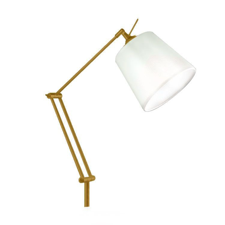 Luminaria De Chao Coluna Rebecca Golden Art C730