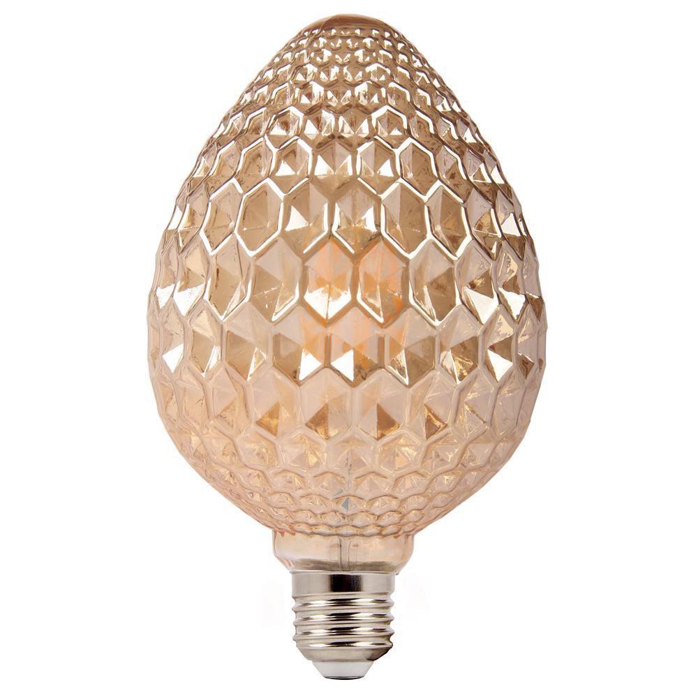 Lâmpada de Filamento Led Decorativa Pinha