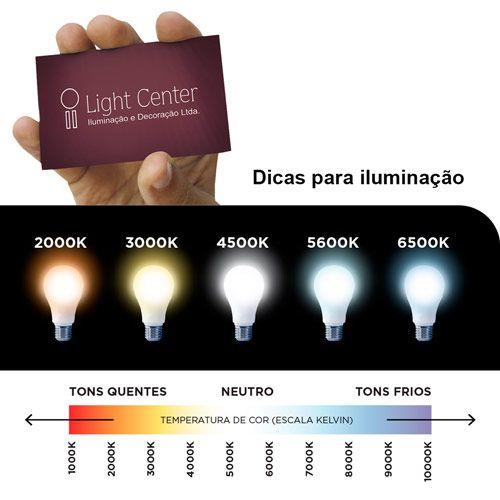 Lâmpada Mini Dicroica Led 3,5w GU10 Bivolt