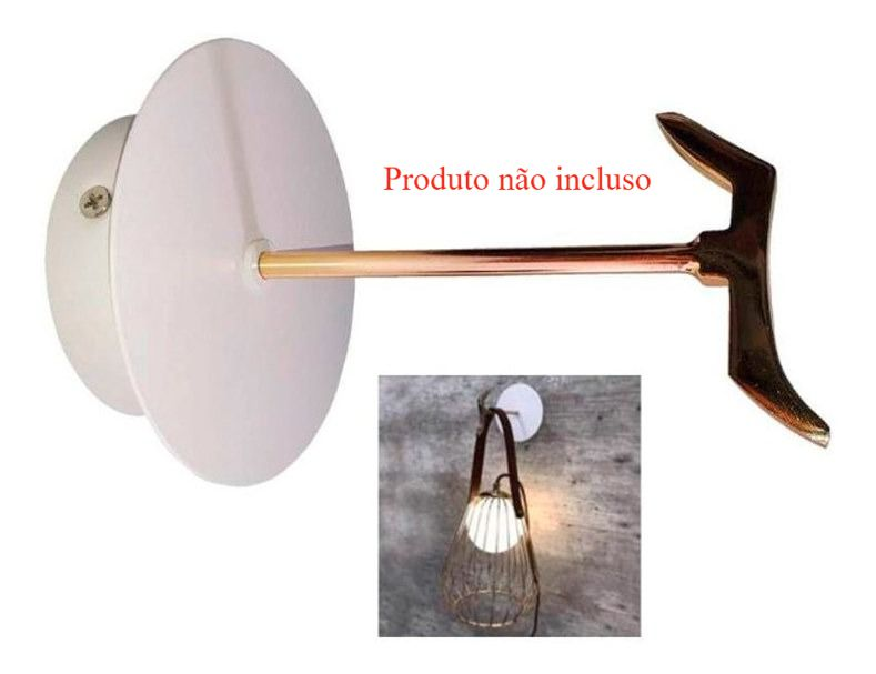 Luminária Abajur De Mesa Lamp Ml001 Bella G9 Ø18 X 22cm