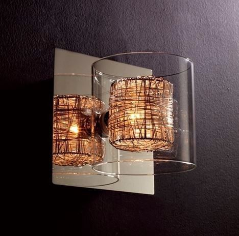 Luminária De Parede Arandela Ravel Ho110a Bella Kit 2 Peças