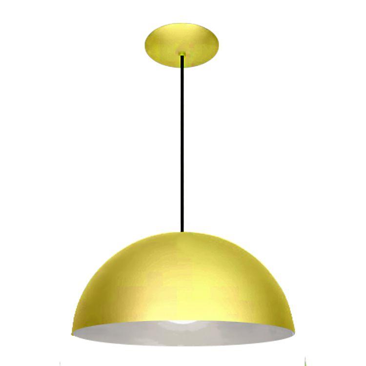 Pendente Alumínio Colors Esfera Due 80cm 983