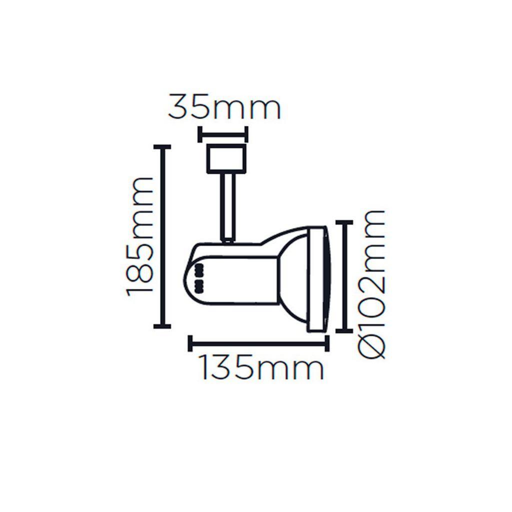 SPOT PAR30 TRILHO ADAP SD1080 - Stella