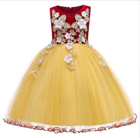Vestido Infantil Princesa Branca De Neve Luxo Magali