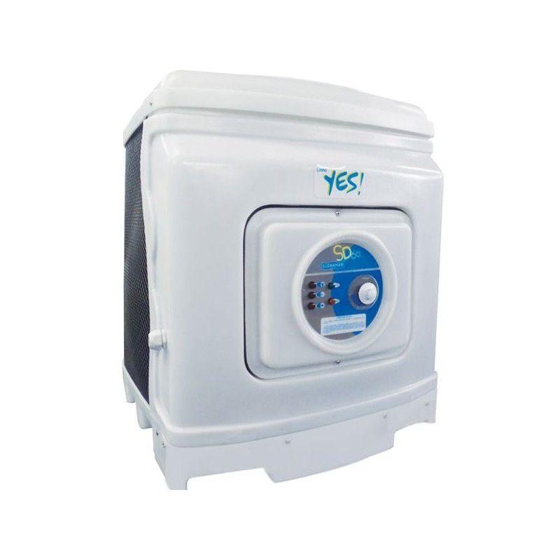 Aquecedor - Trocador de Calor sd25 para Piscina até 24 mil litros